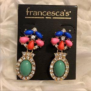 Colorful Francesca's Earrings